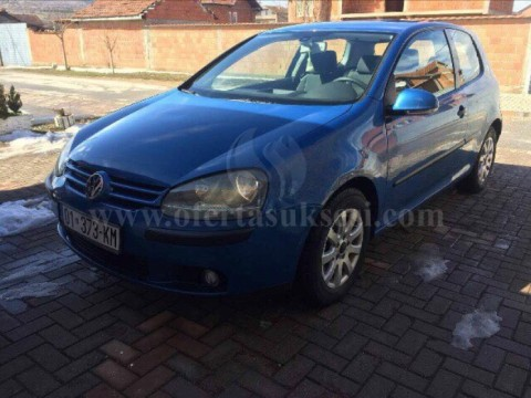 Shes VW Golf 5, 1.9 dizel,
