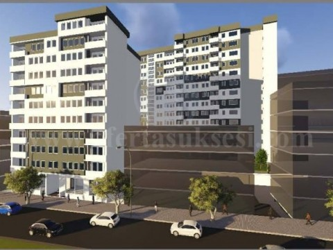 Shes banesen 108.10m2 neto kati i -IX- / Prishtine