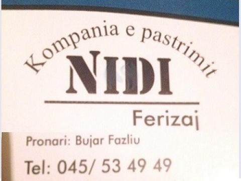 "Kompania pastrimit ""NIDI"""