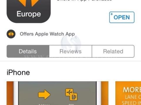 Navigacion NAVIGON Europe iOS