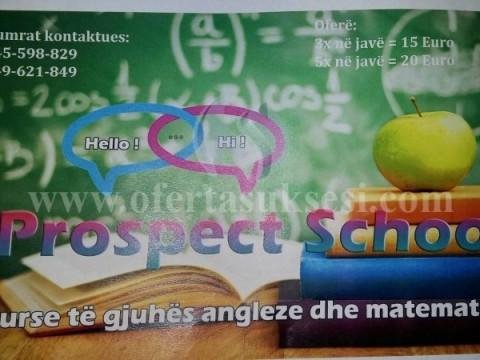 Kurse të Matematikës dhe Gjuhës Angleze