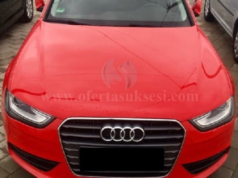 Shes Audi A4 2.0 TDI 140KW,