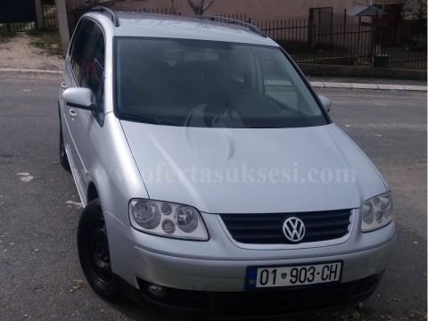 Shes VW Touran 1.9 TDI GOAL