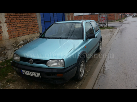 Shes VW Golf 3 1.9 TDI,
