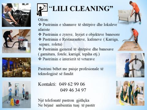 Bejm pastrimin e objekteve dhe ndertesave