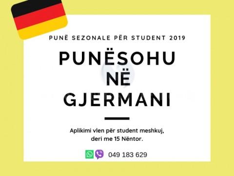 Pune Sezonale / Gjermani
