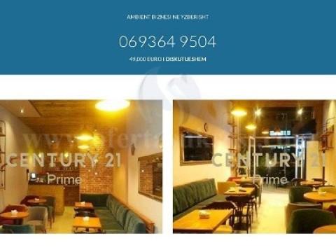 Shes biznesin Bar-Kafe 38m2 kati perdhese / Tirane