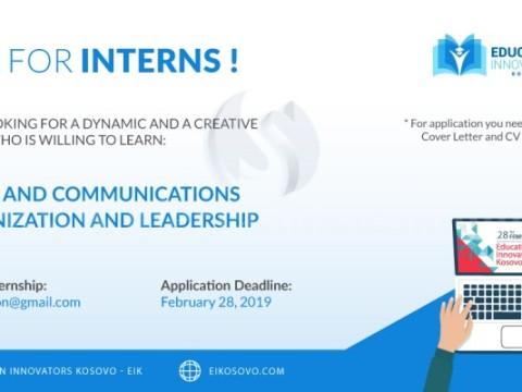 Ofroj pune / Call for interns - Mitrovice