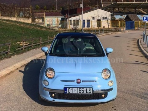 Shes Fiat 500 Blue-Marine 1.4 benzin,