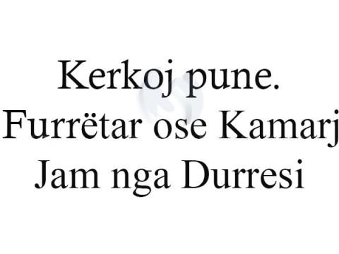 Kerkoj Pune si furrtarë