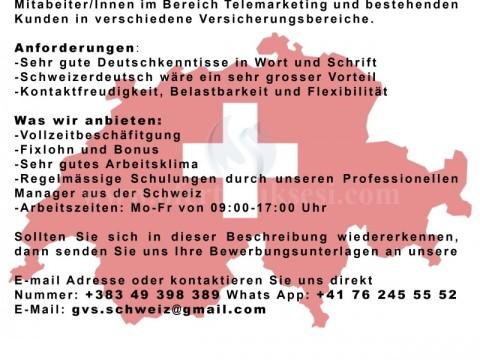 GVS ofron mundësi punësimi për ju që keni njohuri në Gjermanisht