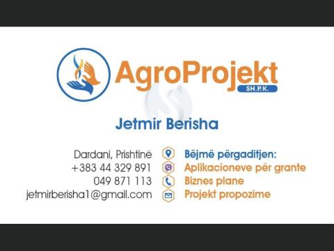 Aplikimi per Grante ne Ministrin e Bujqesis