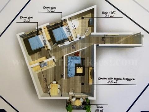Shes banesesn 98m2 kati i -II- / Ferizaj