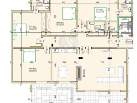 Shes banesen/penthouse 221m2 + ballkon 51.6m2 kati i -XI- / Ferizaj