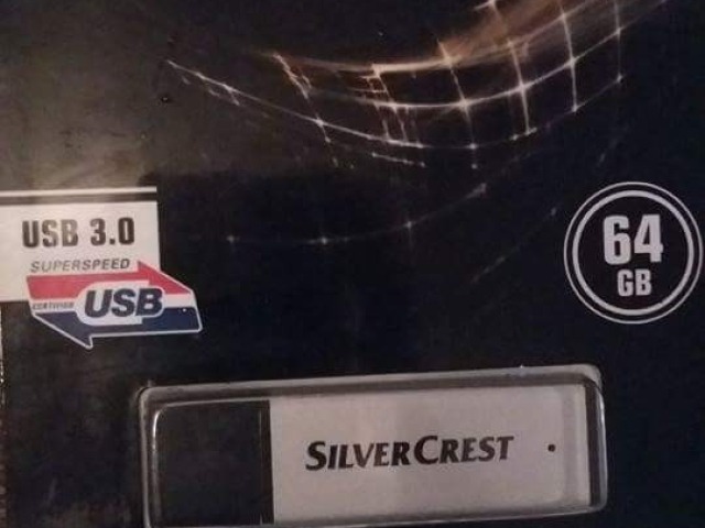 Shes flash USB silvercrest 64GB