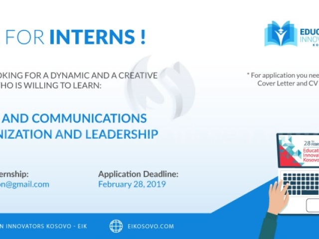 Ofroj pune / Call for interns - Mitrovice