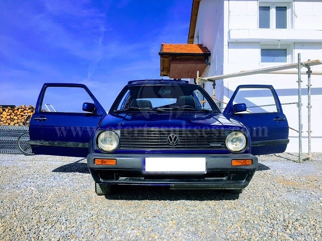 Shes VW Golf2, 1.6 dizel fabrikisht,