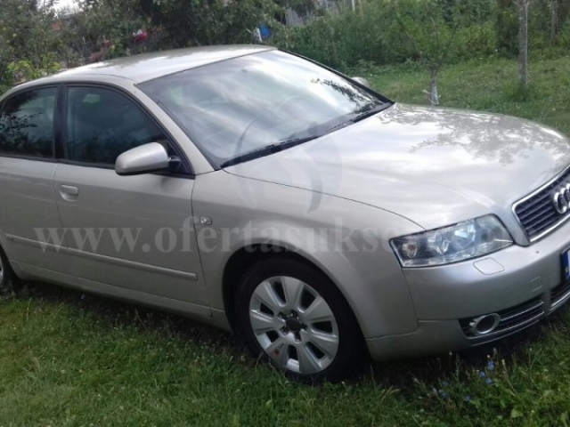 Shes Audi A4 S-line, 1.9 TDI