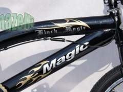 Shes biçikletë black magic model BMX