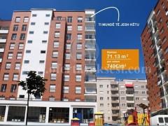 Shes banesen 71.13m2 kati i -IX- / Prishtine
