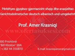 Përkthime shqip-gjermanisht dhe anasjelltas