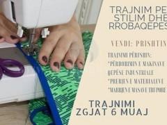 Ofrojm trajnime te rrobaqepsis